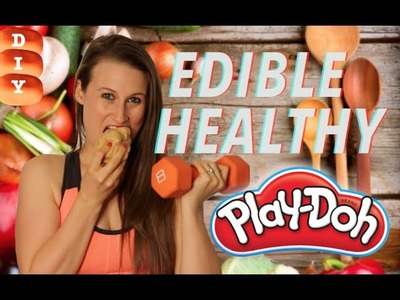 How To Make Edible Healthy Play-Doh - Protein Packed Play Toys!