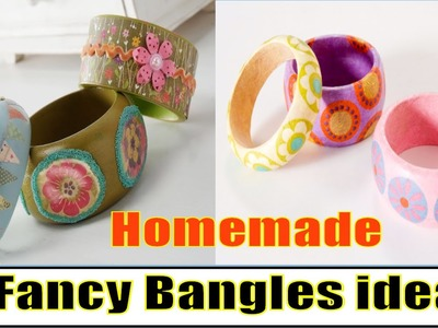 How to make Fancy Bangles at Home | Tips & tricks