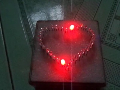 How to make Led heart