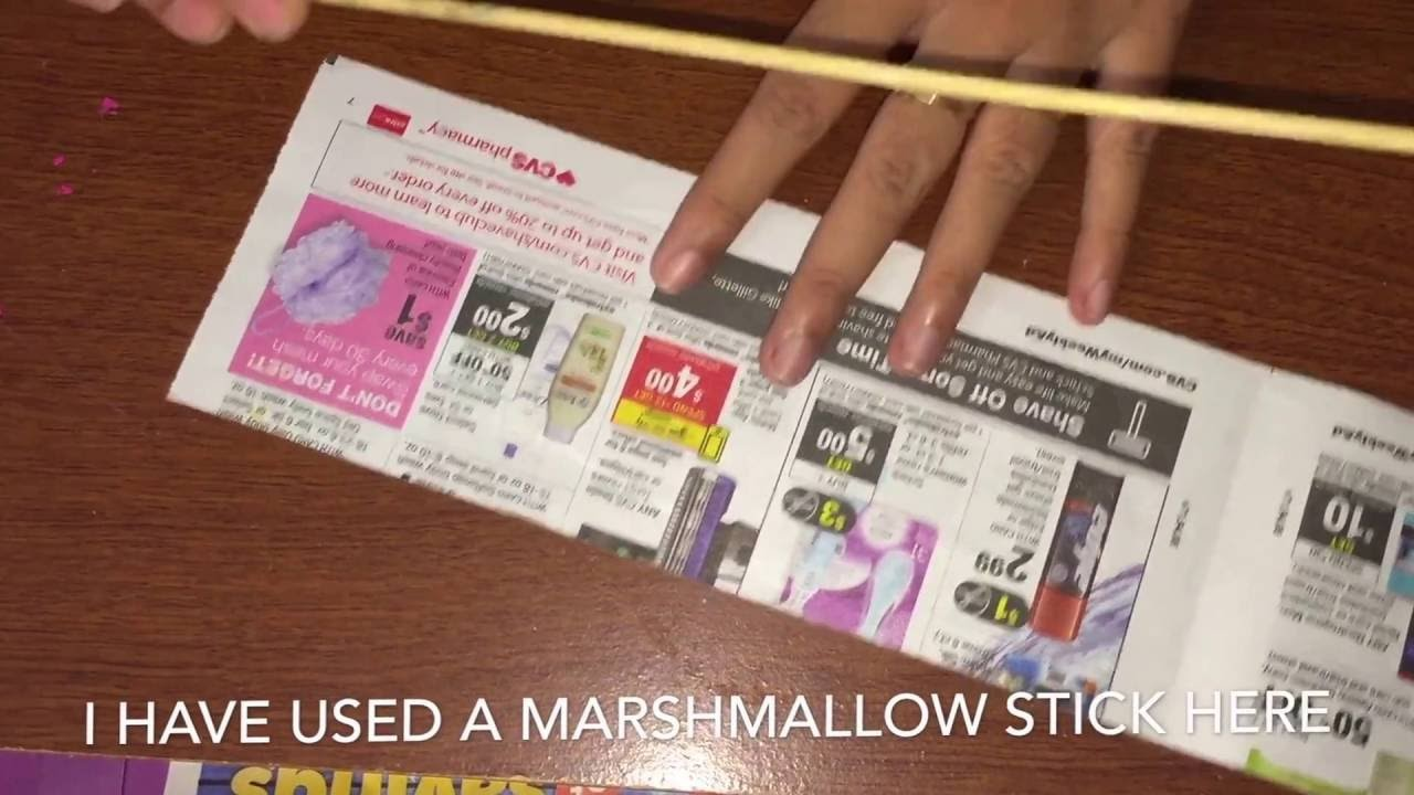 How to make paper tubes
