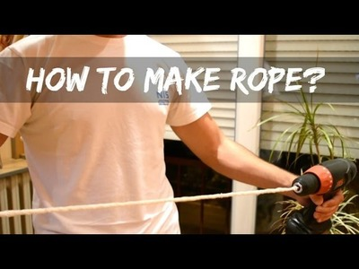 How To Make Rope Out Of TOILET PAPER?