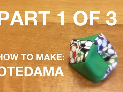 Part 1 of 3: How to Make an Otedama