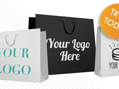 Printed Paper Bags With Rope Handles - Design Your Bags Online - APL Packaging