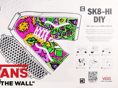 "Vans Singapore How To: ""Sk8-Hi DIY"" 