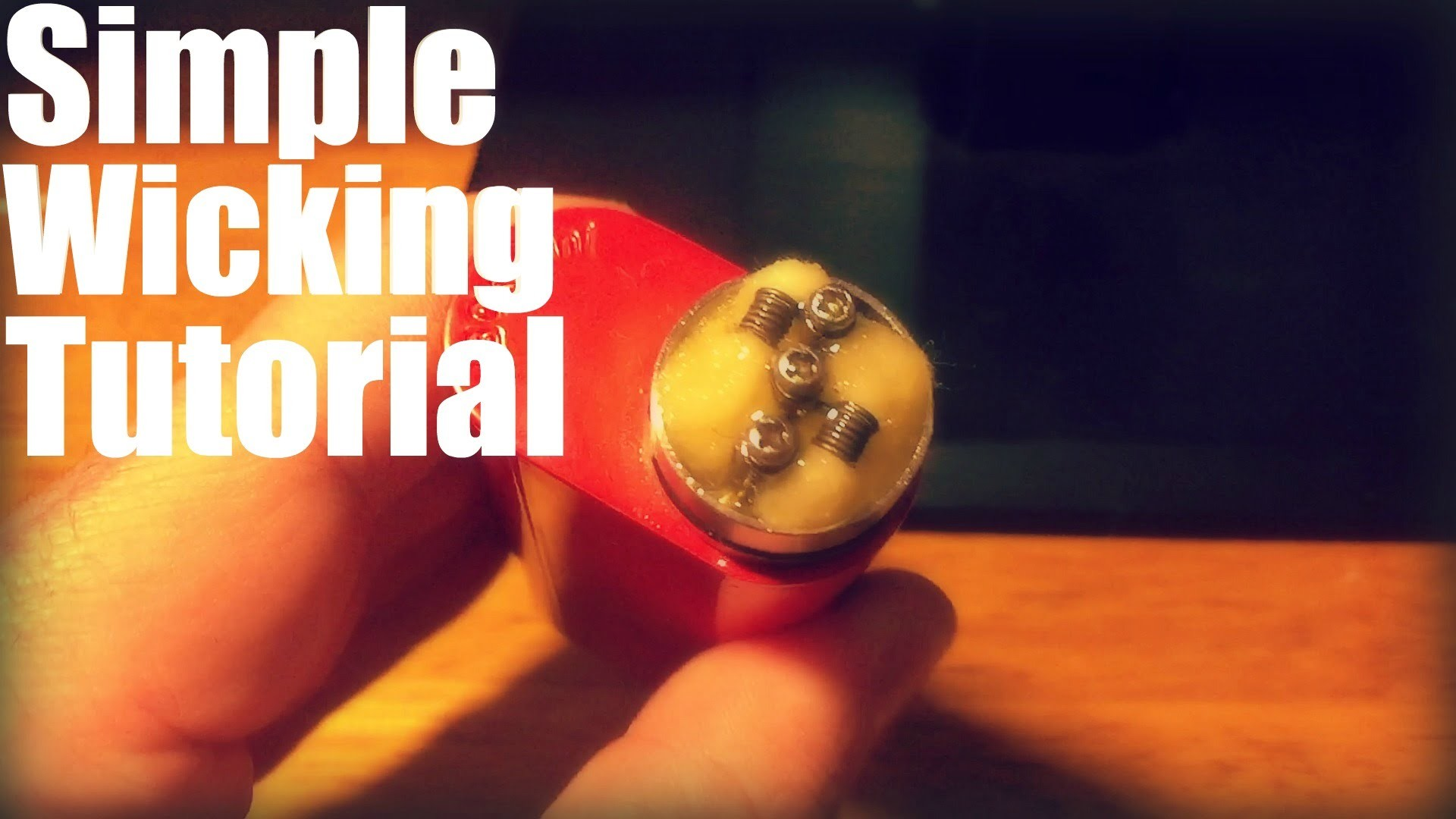 A Very Simple RDA Wicking Tutorial   How to Wick Your RDA    Beginners Guide
