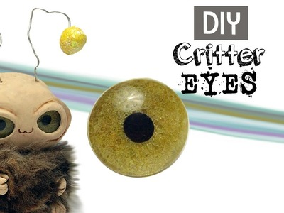 EASY Crystal Shimmer Craft Eyes For Monsters, Animals, dolls & Jewelry Projects