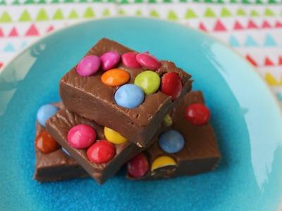 Easy recipe: How to make 3 ingredient Smartie fudge
