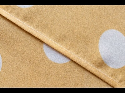 French seam | How to sew a french seam, easy tutorial to sew a french seam for beginners.