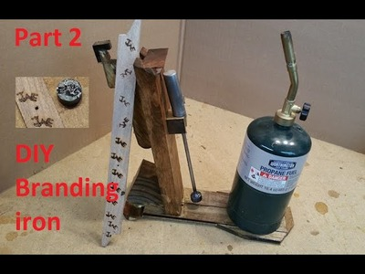 How to build a branding iron DIY branding iron with stand