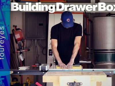 How To Build Drawer Boxes - Woodworking Tips #01
