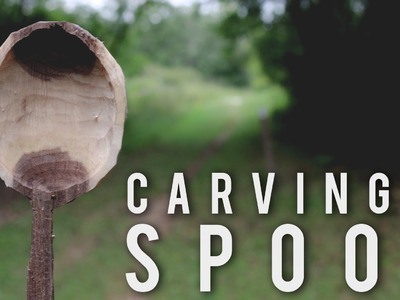 How to Carve a Spoon in the Woods - Bushcraft