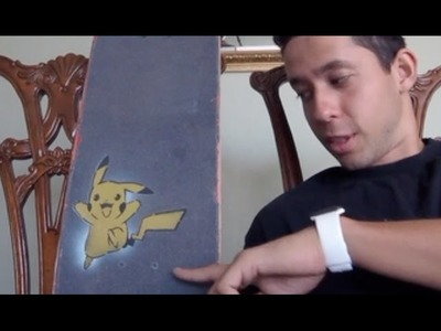 How To Customize Your Grip Tape (Pikachu)