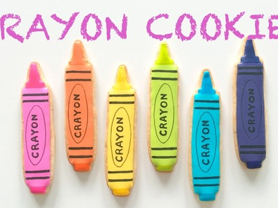 How To Decorate Crayon Cookies!