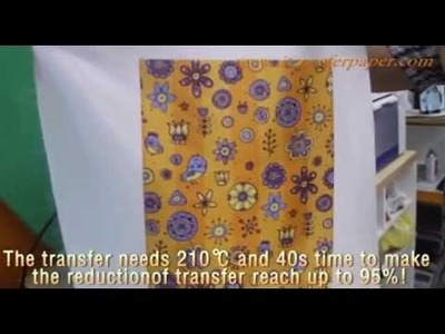 How to identify correct-printing side of vision sublimation paper