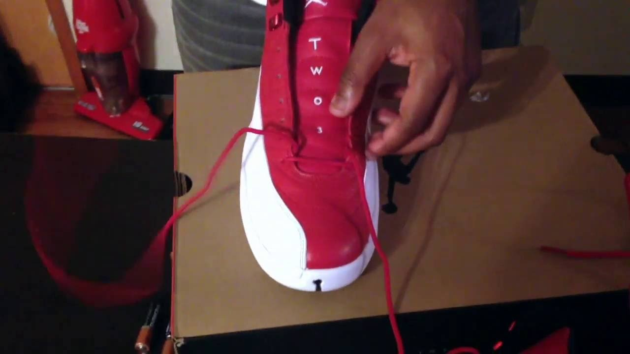 HOW TO LACE MY 12