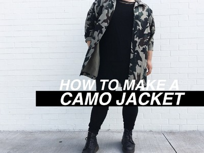 HOW TO MAKE A CAMO.ARMY JACKET | BLONDEWOLFF