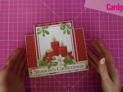 How to make a centre stepper card