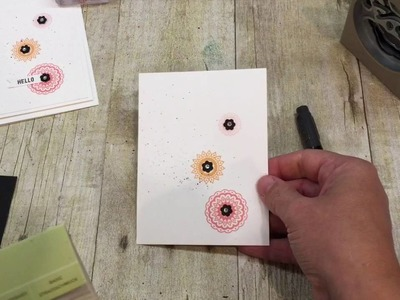 How to make a Clean and Simple Paisleys and Posies Card