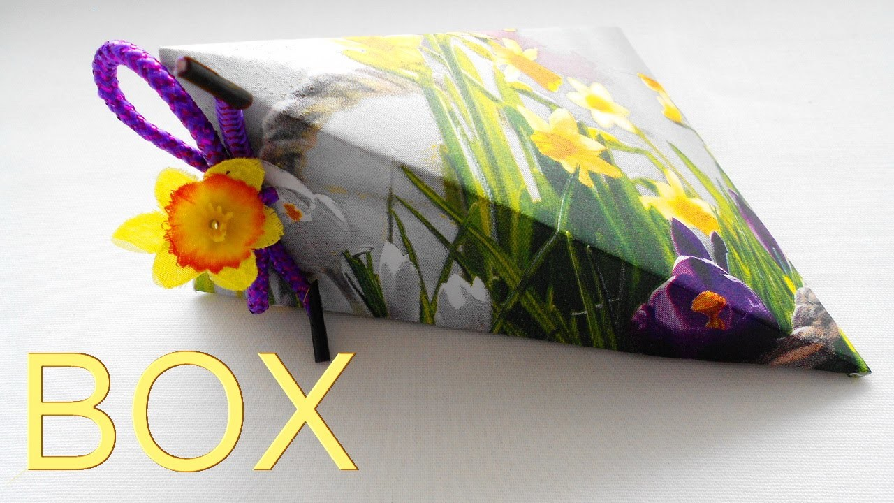 How to make a gift Box of Paper. Origami Tutorial for Beginners