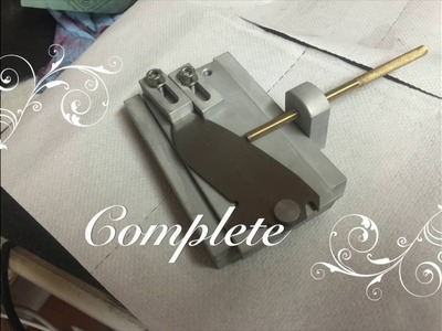 How to make a lock grinding fixture