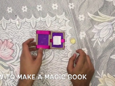 How To Make A Magic Book At Home