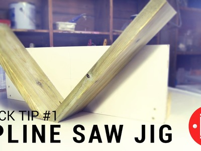 How to Make a Miter Spline Joint Jig (Quick Tip #1)