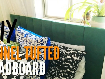 How To Make A Panel Tufted Headboard   Tutorial