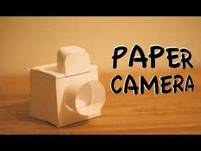 How to make a Paper Camera for Kids at Home step by step | Origami |