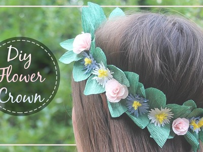 How To Make A Paper Flower Crown