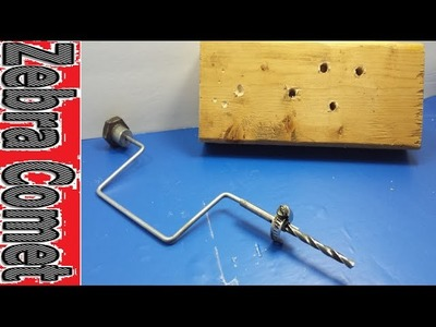 How To Make A Simple Hand Drill (Very Effective!)
