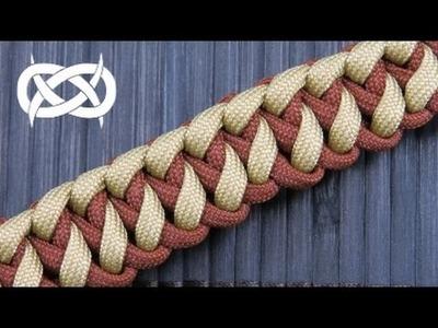 How to make a Slanted Solomon Paracord Bracelet