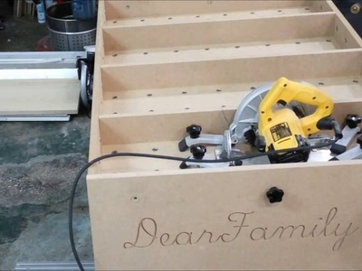 How to make a table saw from MCT