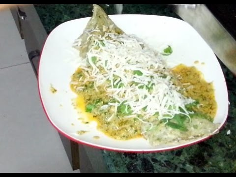 How to make GreenRoll at home surat style