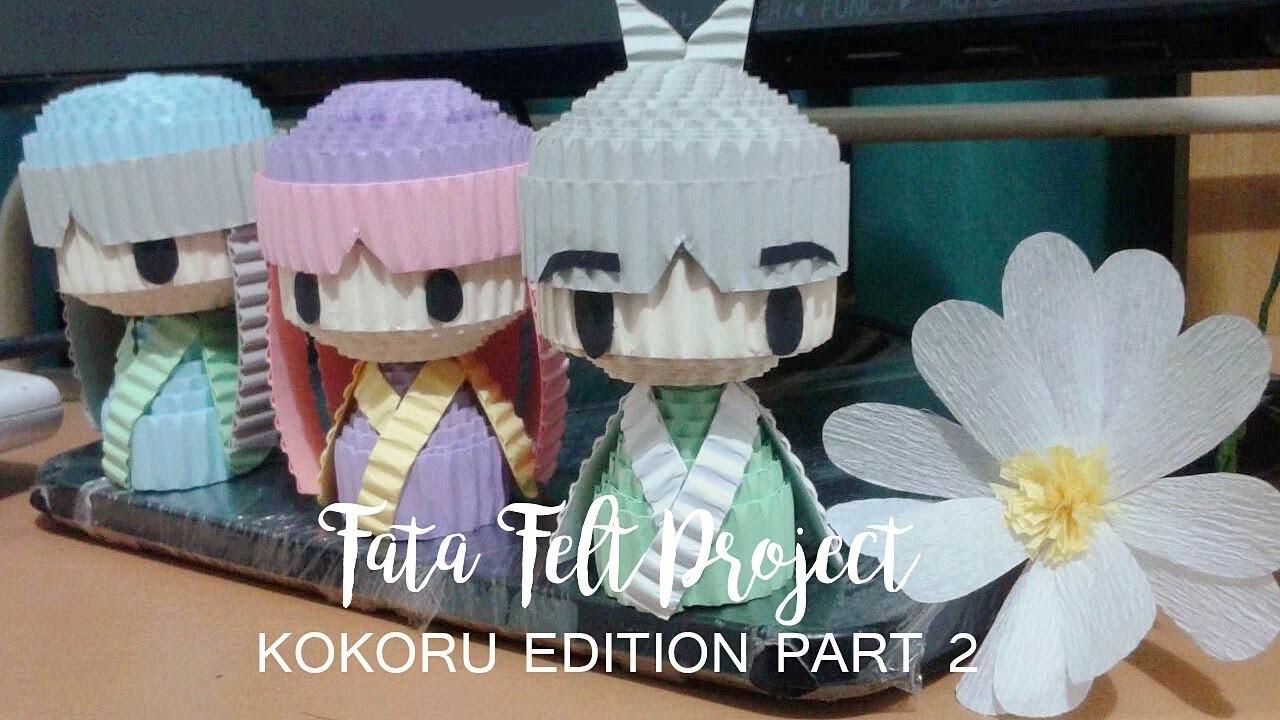How to Make Kokoru Doll (Part 2) -fatafeltproject