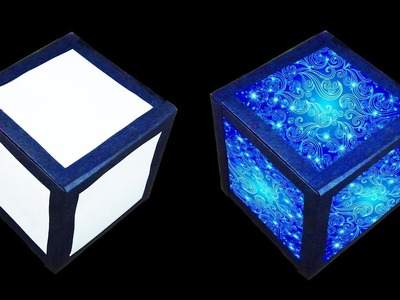 How to make Magic Lantern Cube (Christmas and Home Decorating Crafts) : HD