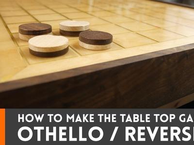 How to make Othello. Reversi (tabletop game)