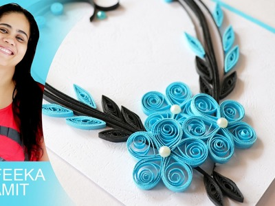 How to make paper quilling b'day cards