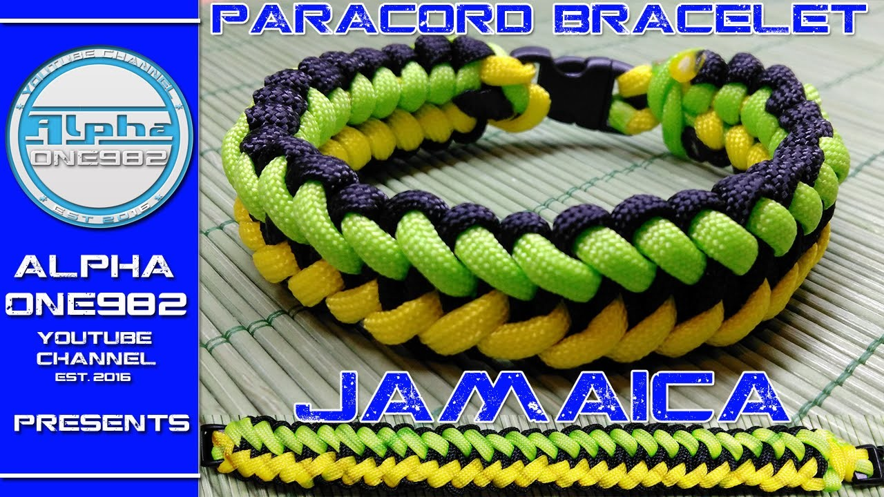 How To Make   Paracord Bracelet Welcome to Jamaica 2016
