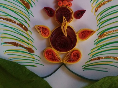 How To Make Quilling Ganesha