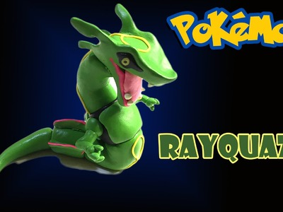 How to make Rayquaza   Pokemon GO   Bunbum's Playdoh.Clay tutorial video