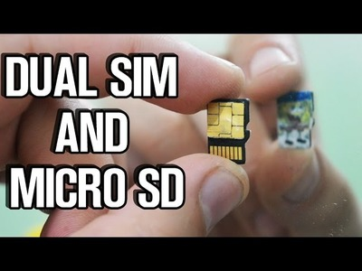 How To Make Sim & Micro SD to Work Simultaneously - LifeHack!