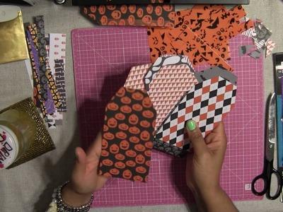 "How to Make Simple Flipbook Tutorial "" Halloween Coffin """