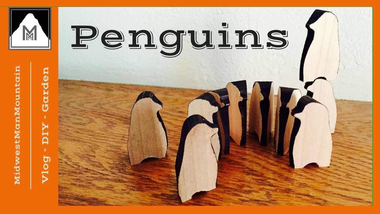 How to Make Wooden Penguins - Makers Care 2016