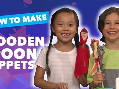 How to Make Wooden Spoon Puppets