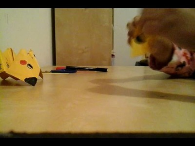 How to make your own Pikachu fortune teller