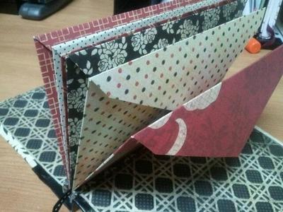 How to making Envelope Mini Book - Tutorial