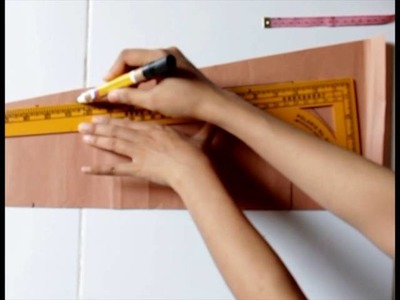 How to making kielo wrap dress