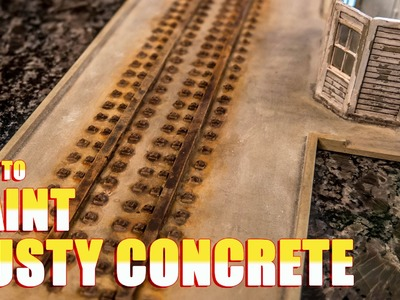 How to Paint Rusty Concrete