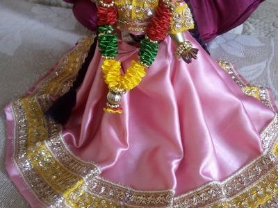 How to prepare Radha ji ki dress (part1 of 2)