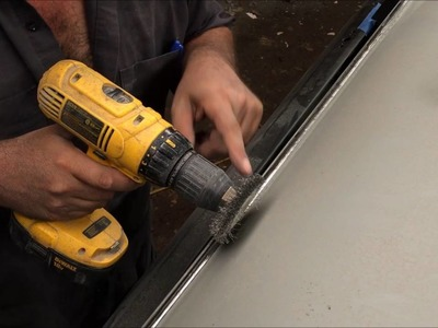 How to seam seal a roof rail channel do it yourself DIY GM chevelle